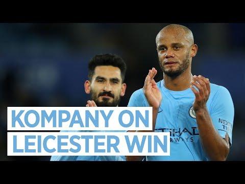 CAPTAIN'S COMMENTS | Post Match Reaction | City 2-0 Leicester