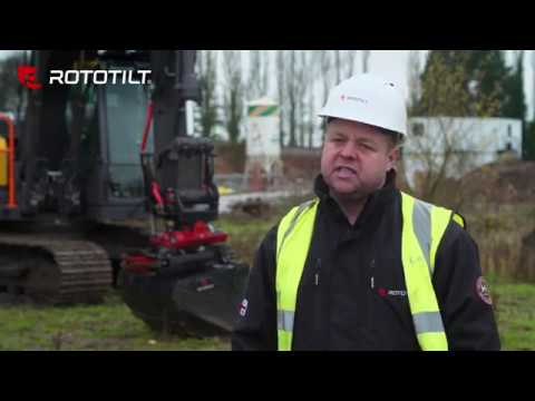 Lee Day  from Moss Civil Engineering shares his thoughts about Rototilt®
