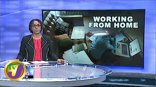 Working from Home: TVJ News - March 18 2020