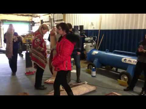 Rug Cleaning Training in Cambridge with Ruth Travis
