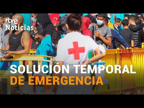 CANARIAS habilitará 7.000 PLAZAS en campamentos de emergencia para atender a los MIGRANTES | RTVE