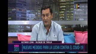 Alcalde de Tarija detalla la situación por el COVID-19