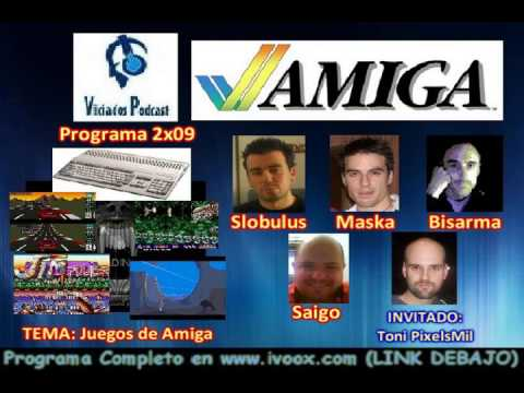 2ª Temporada RESUMEN Programa 9 (16-04-2013) || TEMA: Juegos de Commodore Amiga