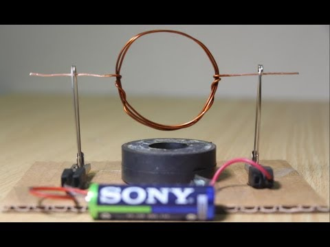 Top homopolar motor science project