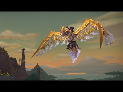 Fliegen in Battle for Azeroth (DE)