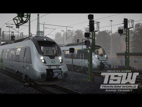 Train Sim World Rapid Transit  Scenario 55