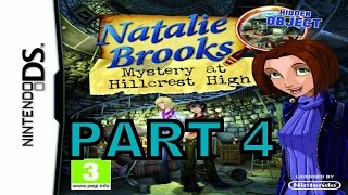 Natalie Brooks Mystery At HillCrest High (NDS) Walkthrough Part 4 With Commentary