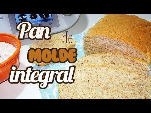 Pan de molde integral Thermomix