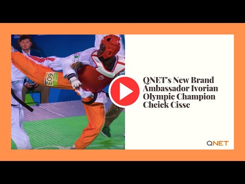 QNET's New Brand Ambassador Ivorian Olympic Champion Cheick Cisse