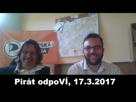 Pirát odpoVÍ, 17.3.2017