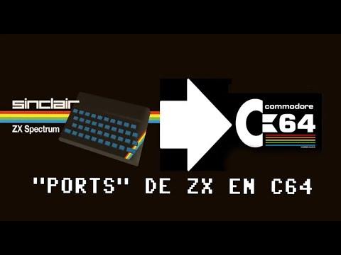"""Directitos de Mierda: """"Ports"""" de ZX en Commodore64 - c64 REAL 50hz (V)"""