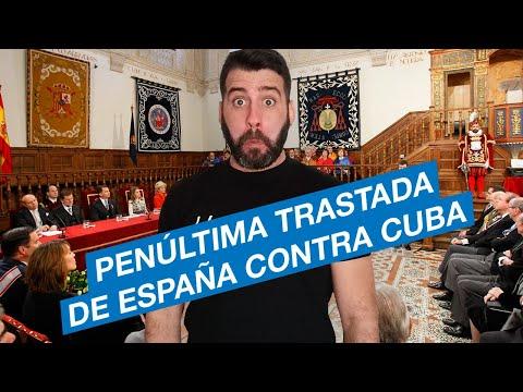 Penúltima trastada de España contra Cuba.