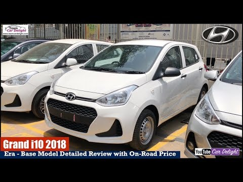 2018 Grand i10 Base Model Era Review With On Road Price | Team Car Delight