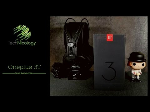 Oneplus 3T Midnight Black! Unboxing and First Impressions