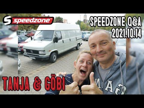 Speedzone Q&A Tanja & Göbi 2021.10.14