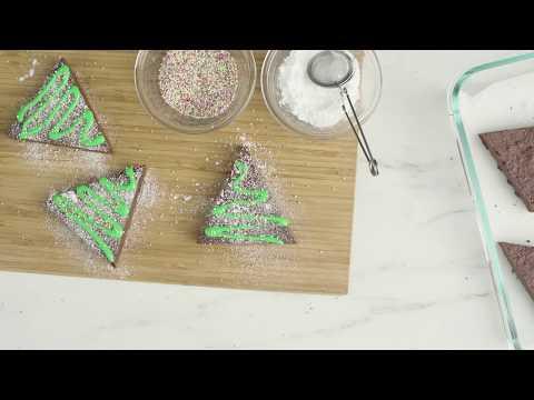 Bake and freeze holiday treats: Chocolatey trees