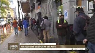 Largas filas en las AFP por retrasos en el pago del tercer retiro de las pensiones| ARAUCANÍA 360°