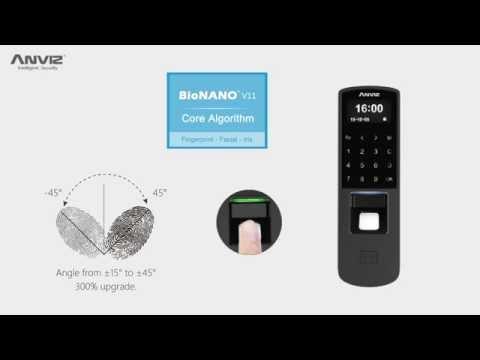 Anviz P7 control de accesos, tiempo y asistencia POE