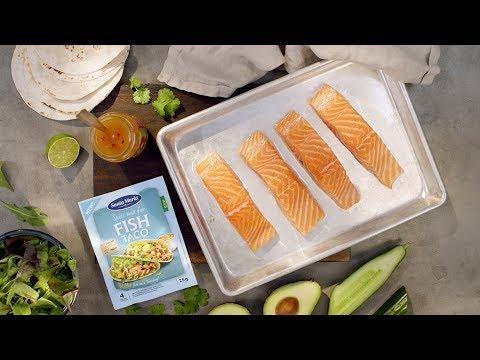 Fish tacos - Testa något nytt ikväll