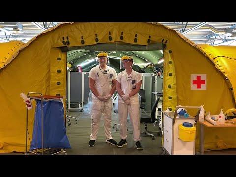 Region Dalarna under coronapandemin: Anton och Rasmus, undersköterskor på akuten