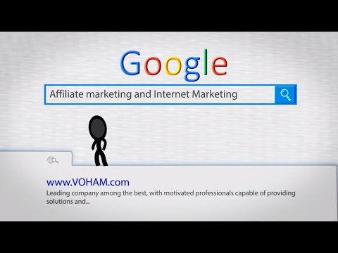 VOHAM Services Web Development Internet Marketing Affiliate Marketing