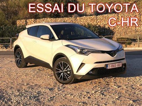 Essai Toyota C-HR