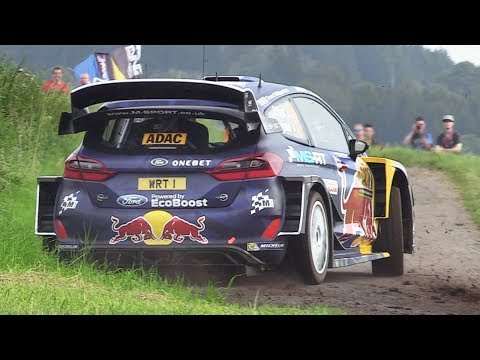 WRC Rallye Deutschland 2017 – Shakedown Action  Sounds