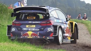 WRC Rallye Deutschland 2017 – Shakedown Action  Sounds