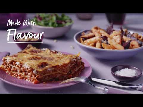 marksandspencer.com & Marks and Spencer Discount Code video: M&S | Made Without Beef Lasagne & Penne Pasta