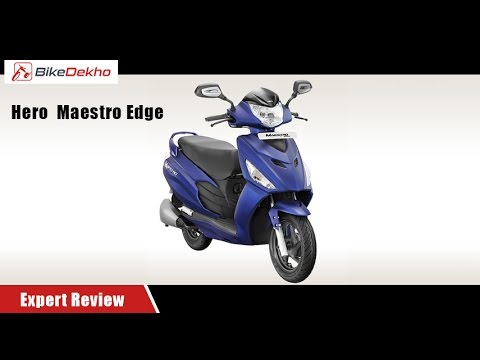 Hero Maestro Edge | Expert Review | BikeDekho.com
