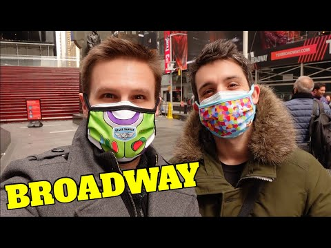 TOUR: Broadway During COVID- Times Square NEW YORK