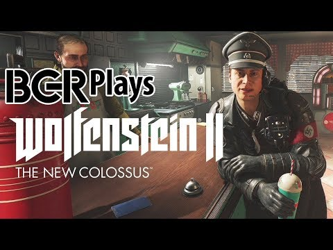 Wolfenstein II: The New Colossus | 45 Minutes of New Gameplay