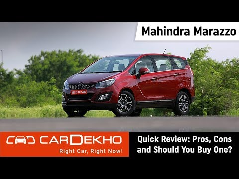 Mahindra Marazzo Quick Review: Pros, Cons and Should You Buy One?