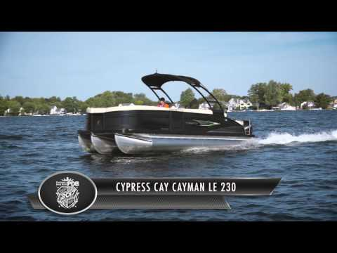 2017 Cypress Cay Cayman LE 230 Pontoon and Deck Boat Review