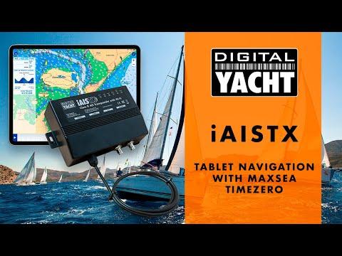 iAISTX - Tablet Navigation with MaxSea TIMEZERO - Digital Yacht