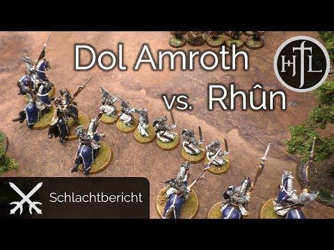 Battlereport - Dol Amroth vs. Rhûn (Mittelerde Tabletop / Hobbit / Herr der Ringe)