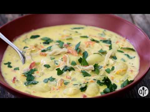 How to Make Creamy Chicken Gnocchi Soup | Soup Recipes | Allrecipes.com