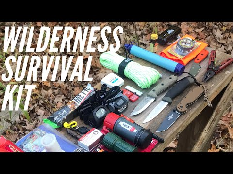 Wilderness Survival Kit: The Basics and Advanced Options (Fire, Shelter, Signal, Food and More)