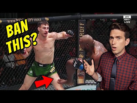 TOO DANGEROUS for the UFC? Doctor Reacts to Oblique Kick Controversy