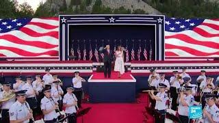 Trump inaugura la celebración del 4 de julio con un multitudinario evento en el Monte Rushmore
