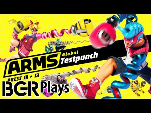 ARMS | Global Testpunch | All Characters!