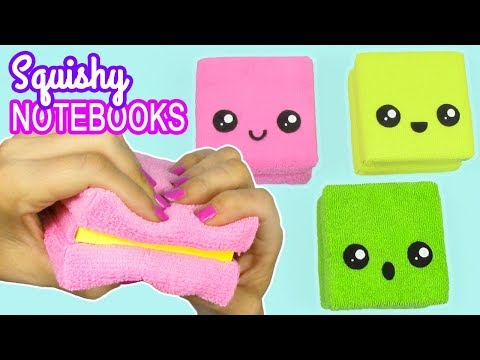 DIY SQUISHY NOTEBOOKS! AMAZING KAWAII CRAFTS!