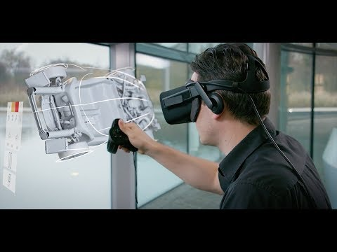 How McLaren Automotive uses virtual reality to design its sportscars and supercars