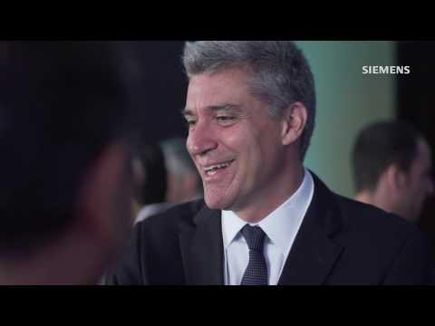CEO global da Siemens reafirma o compromisso da empresa com o Brasil