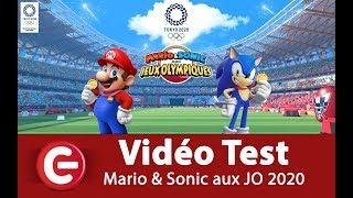 Vidéo-Test : [VIDEO TEST] Mario & Sonic aux JO de Tokyo 2020 - Switch