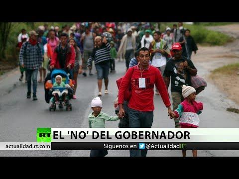 México: El gobernador de Veracruz rechaza llevar a los migrantes a la capital