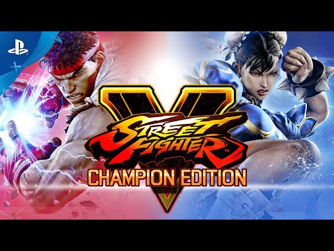 Street Fighter V: Champion Edition - Launch Trailer | PS4