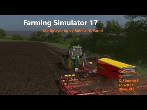 Farming Simulator 17 met RubkuNL 080817