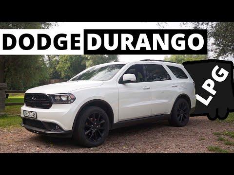 Dodge Durango - z przyczepą na LPG
