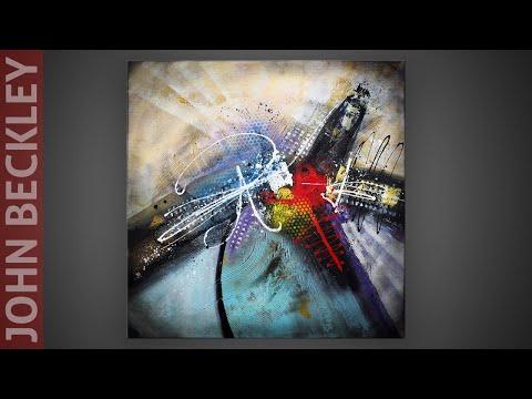 Peinture Acrylique - réalisation d'une peinture abstraite | Lydian